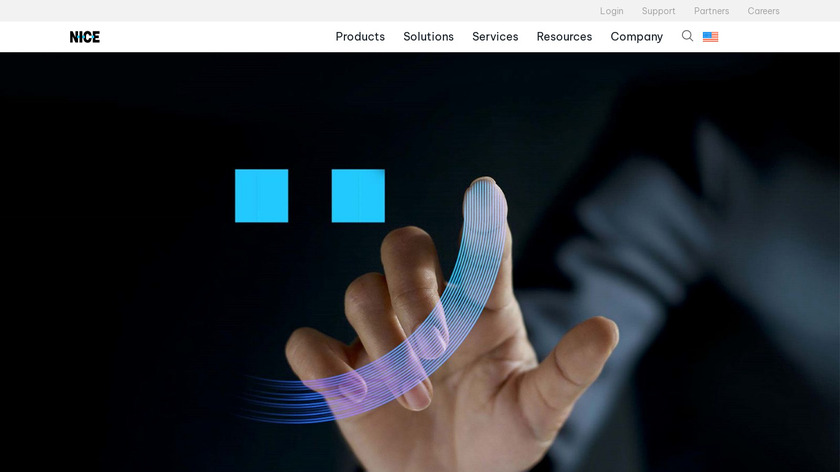 NICE inContact Landing Page
