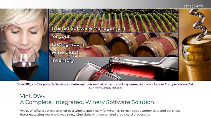 VinNOW Landing Page