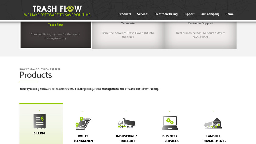 Trash Flow Landing Page