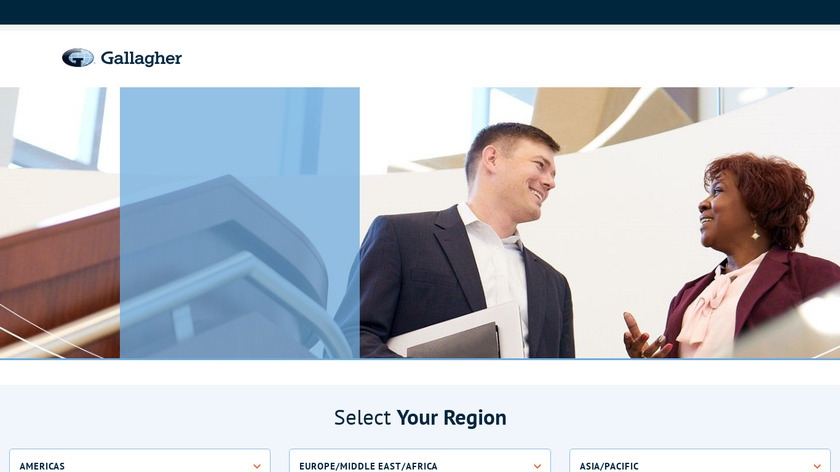 Arthur J. Gallagher & Co. Landing Page