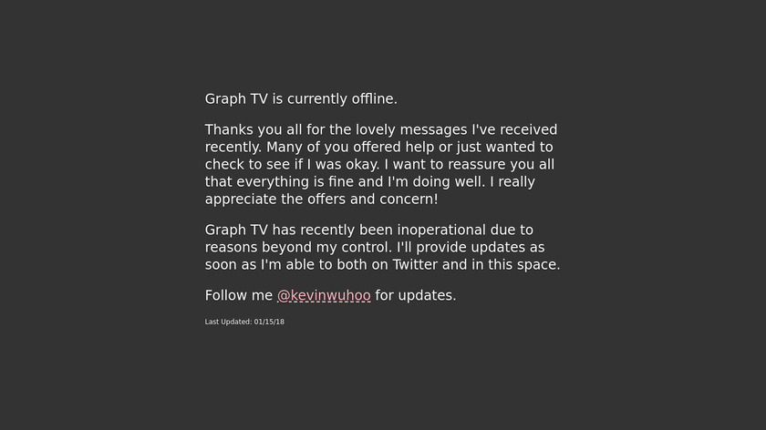 GraphTV Landing Page