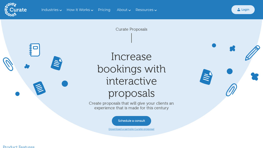 Curate Proposals Landing Page