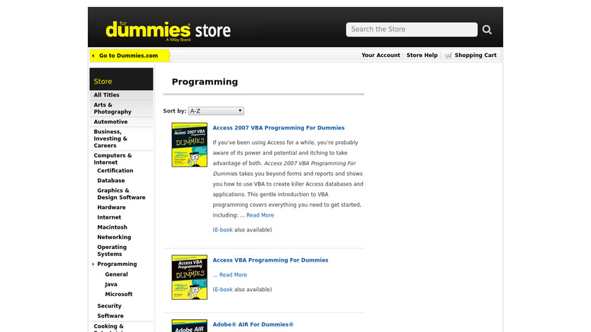 For Dummies Landing Page