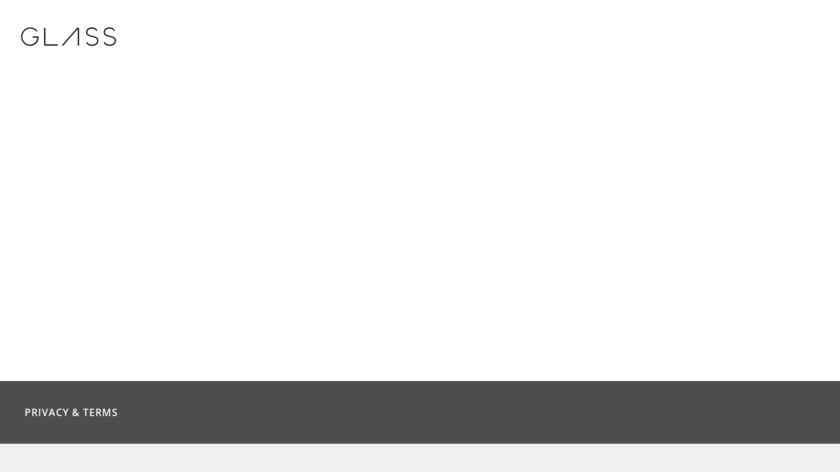 Google Glass Landing Page