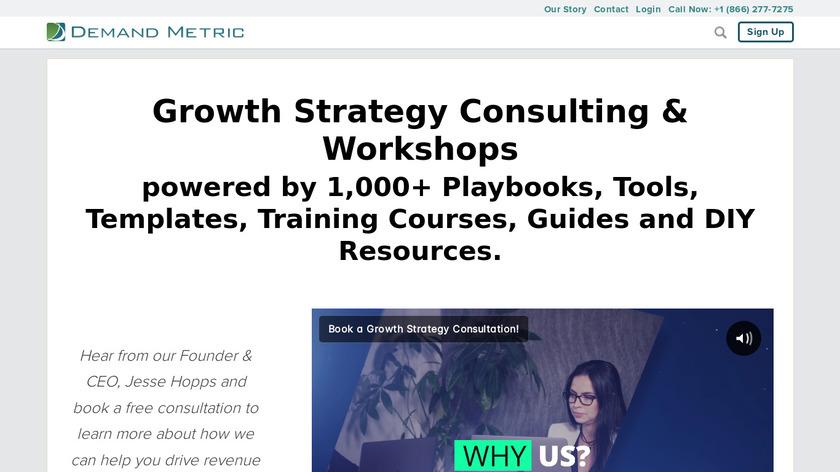 Demand Metric Landing Page