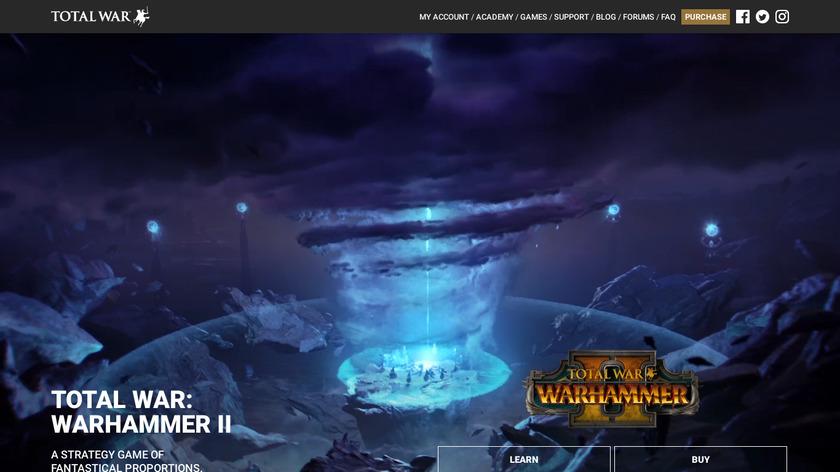Total War: WARHAMMER II Landing Page