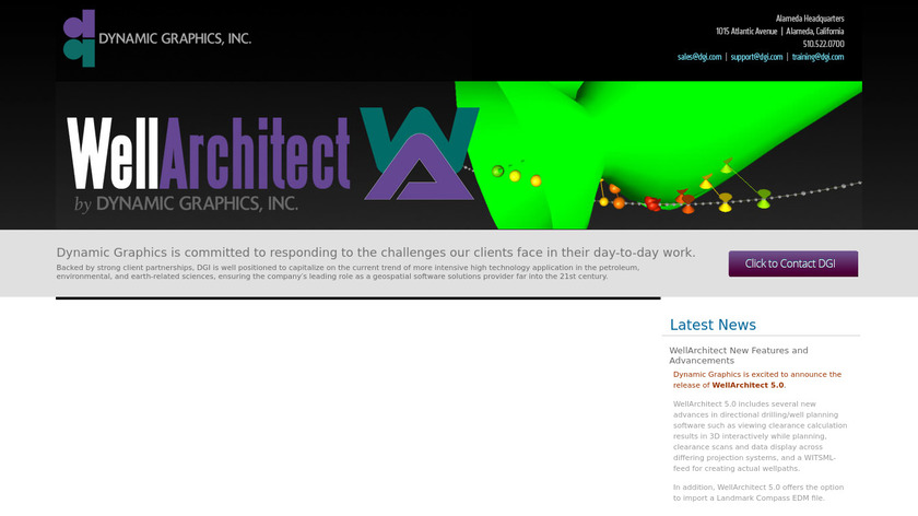 WellArchitect Landing Page