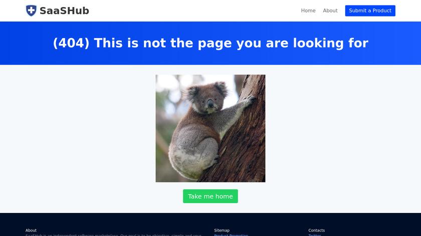saashub.com Blockade Runner Landing Page
