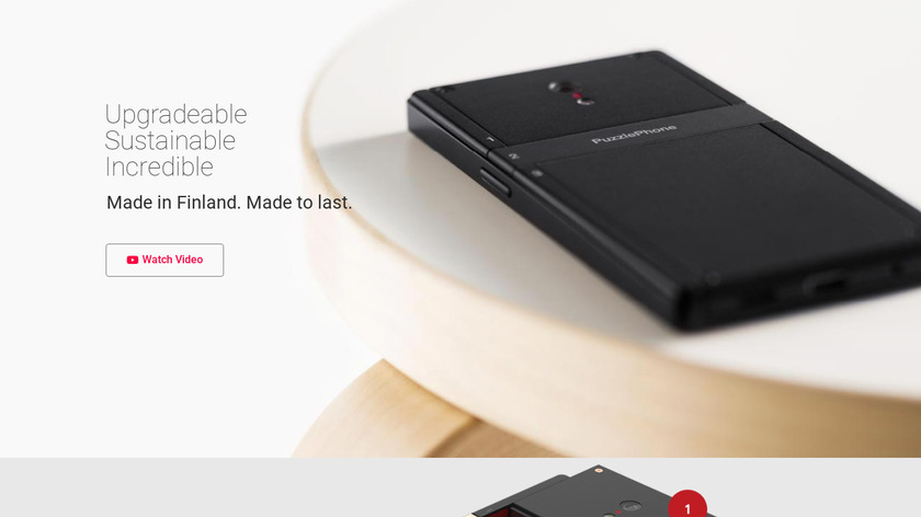 Puzzlephone Landing Page