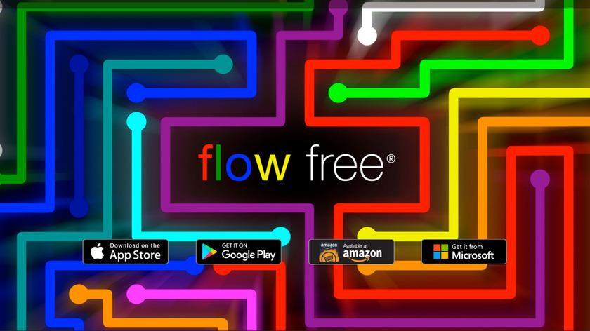 Flow Free Landing Page