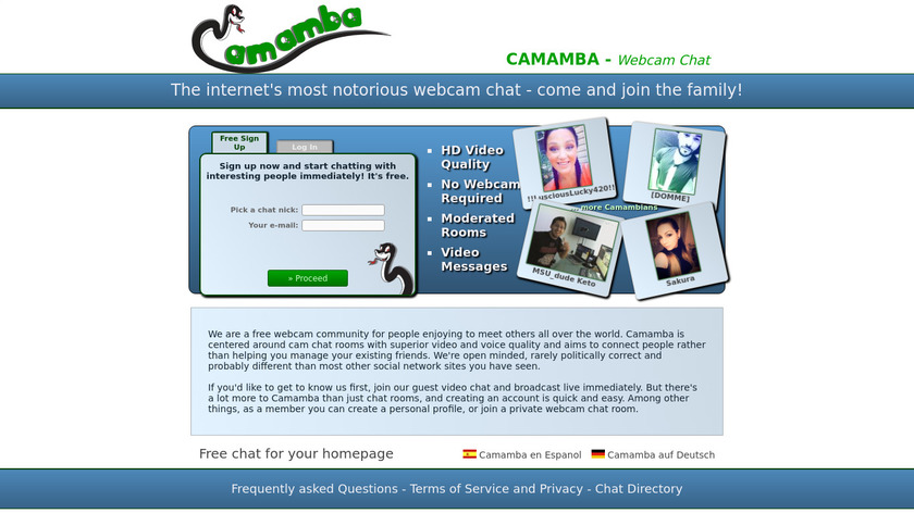 Chat deutsch video German Chat