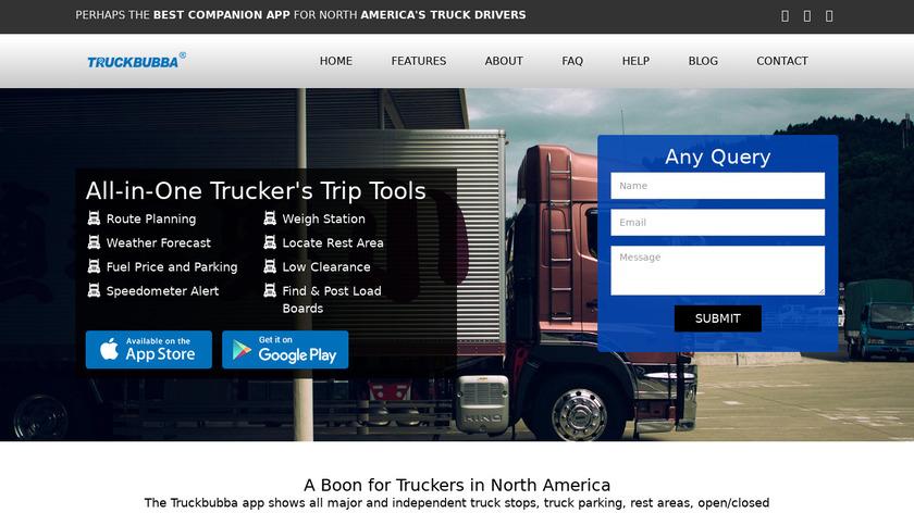 Truckbubba Landing Page