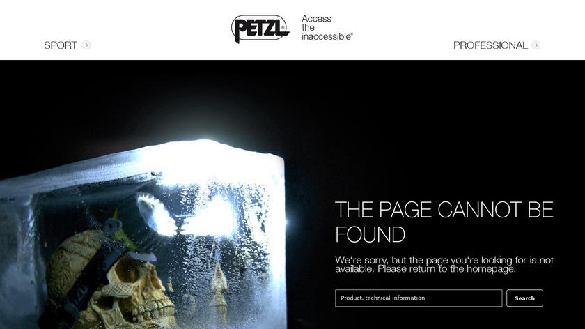 Petzl Tikka RXP Landing Page