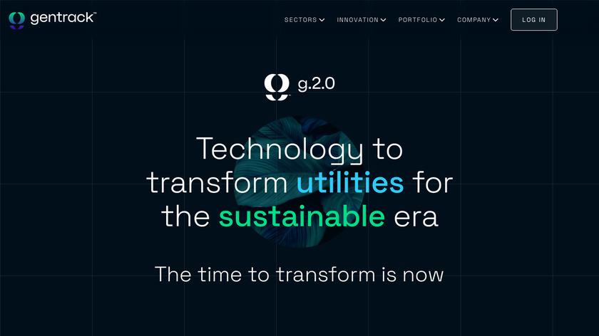 Gentrack Junifer Landing Page