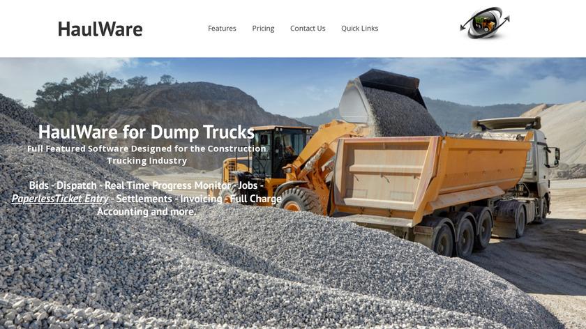 HaulWare Landing Page