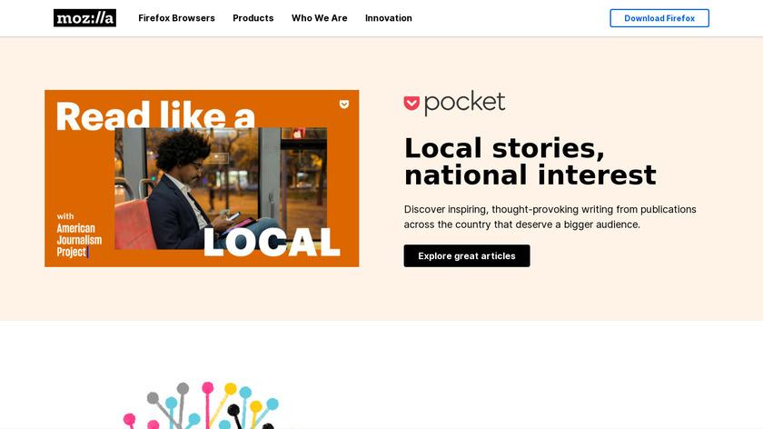 Lightbeam for Firefox Landing Page