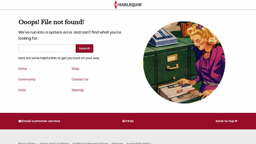 Harlequin Landing Page