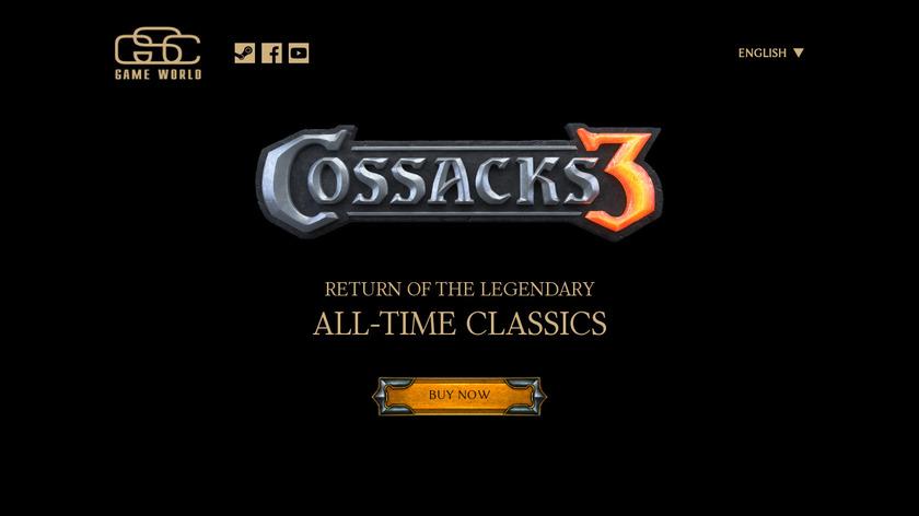Cossacks 3 Landing Page