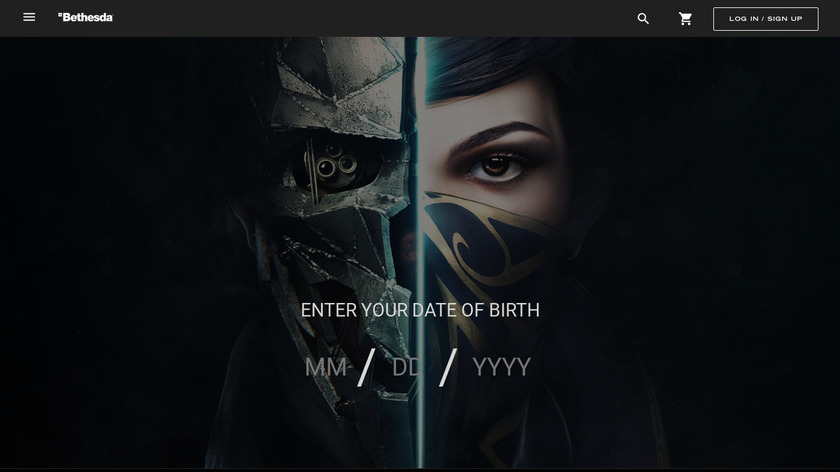 Dishonored 2 Landing Page