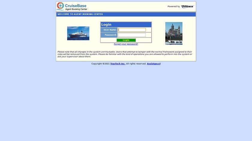 CruiseBase Landing Page