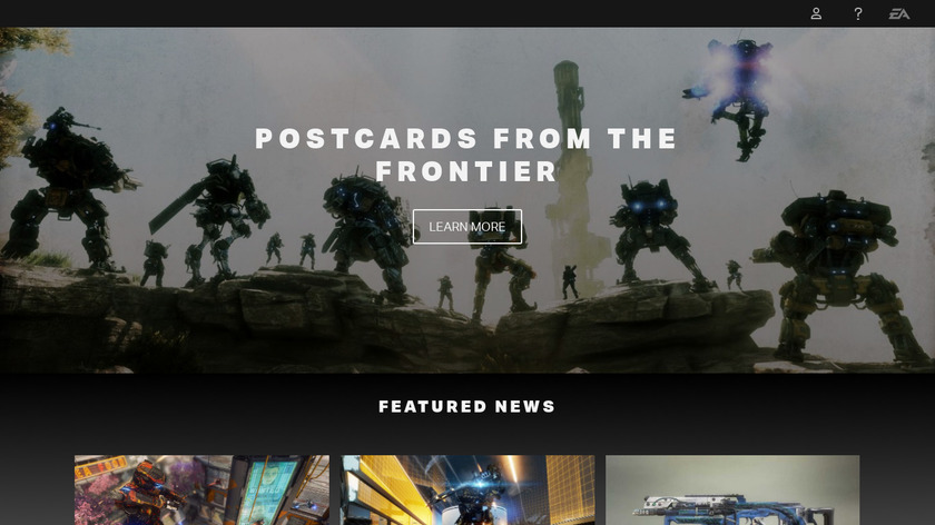 Titanfall 2 Landing Page