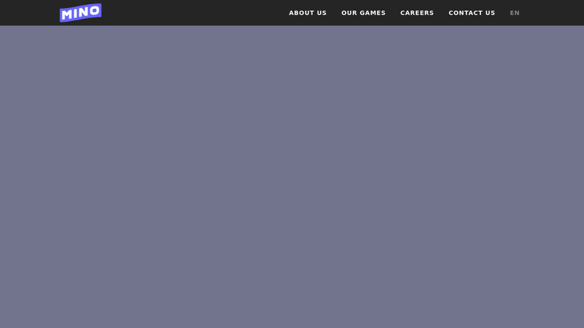Mino Monsters Landing Page