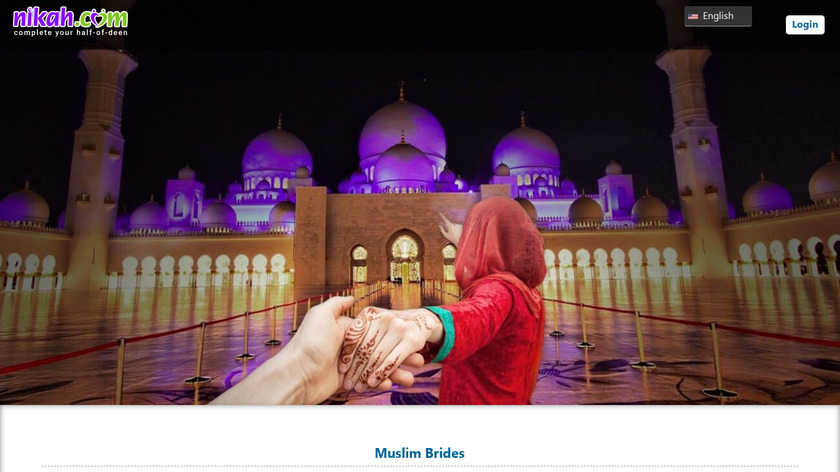 Muslim dating for Nikah Landing Page