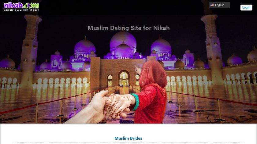 Muslim dating for Nikah Landing Page
