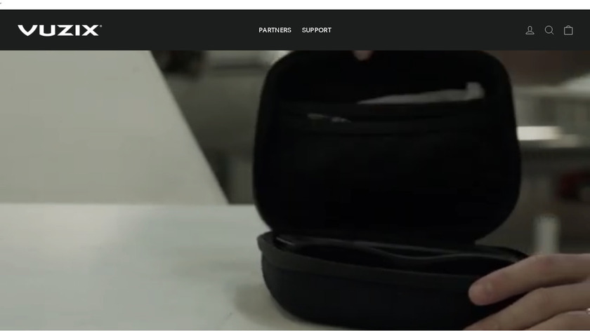 Vuzix M300 Landing Page