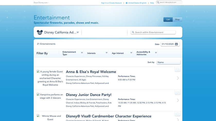 Disney's Aladdin Adventure Landing Page