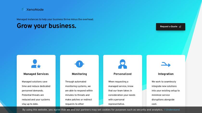 XenoNode Landing Page