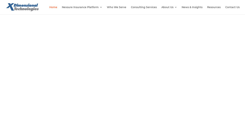 Nexsure Landing Page