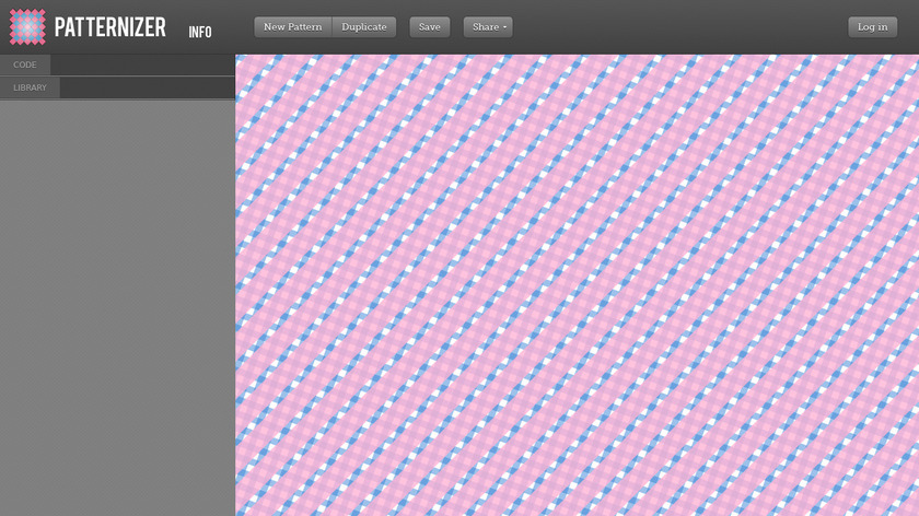 Patternizer Landing Page