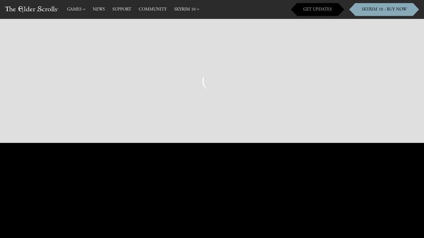 Morrowind Landing Page