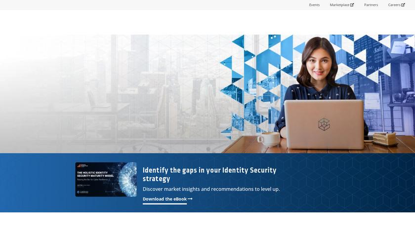 Idaptive Next-Gen Access Landing Page