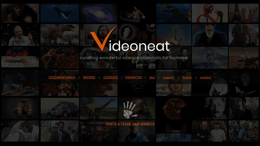 VideoNeat Landing Page