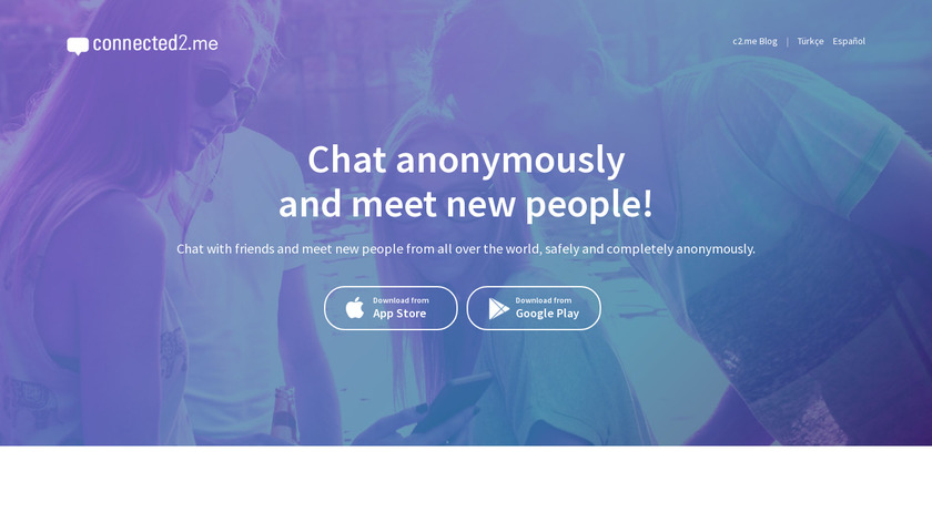 connected2.me Landing Page