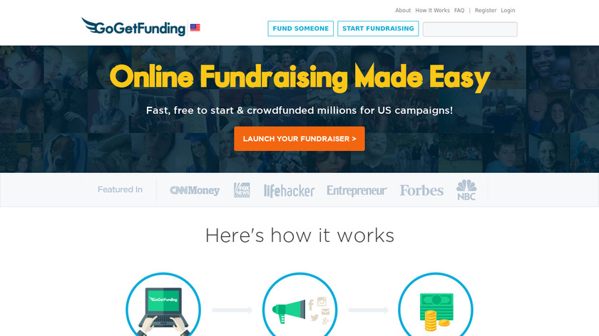 Go Get Funding Landing Page