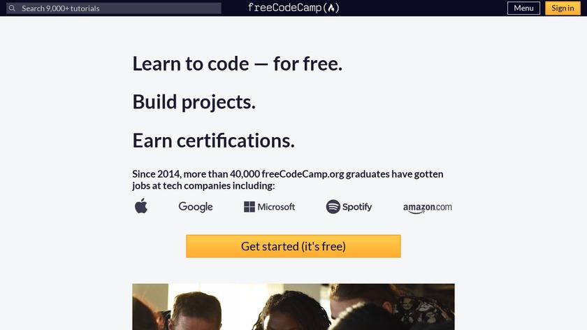 Free Code Camp Landing Page