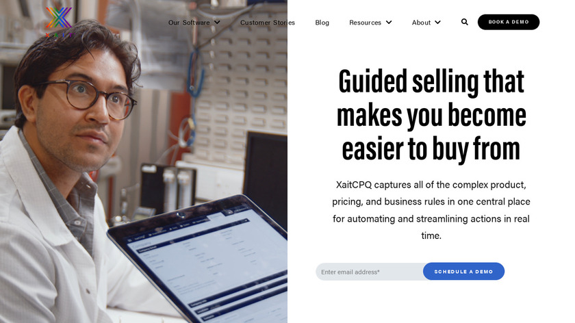 BlueprintCPQ Landing Page