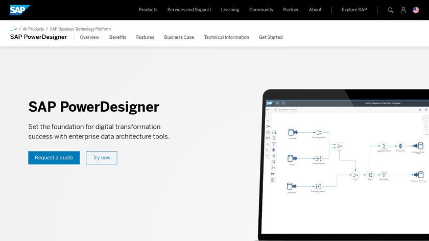 SAP PowerDesigner Landing Page