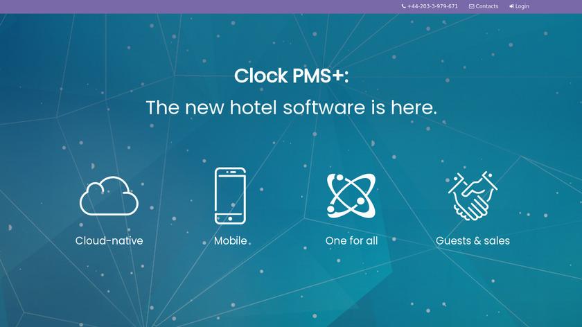 Clock PMS Landing Page
