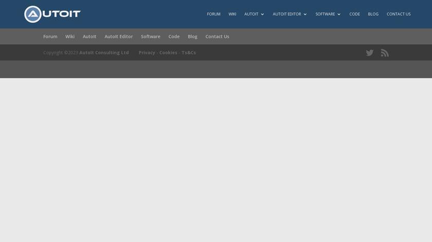 AutoIt Landing Page