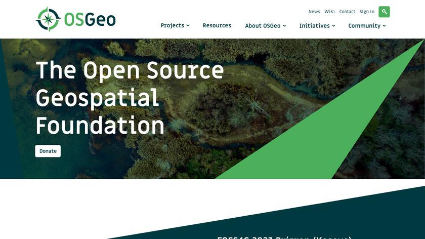 QGIS Landing Page