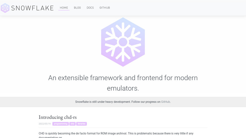 Snowflakepowe.red Landing Page
