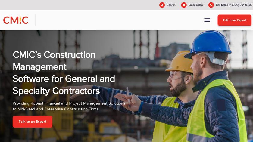 CMiC Landing Page