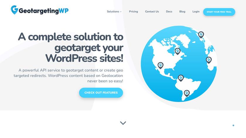 GeotargetingWP Landing Page
