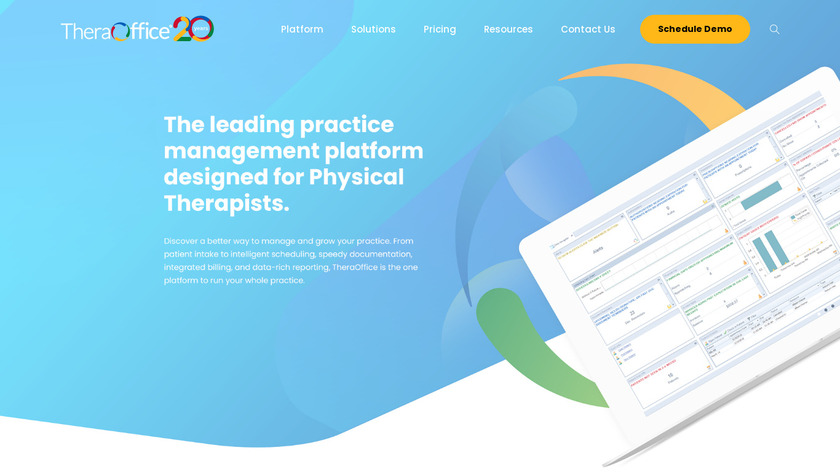 TheraOffice Landing Page
