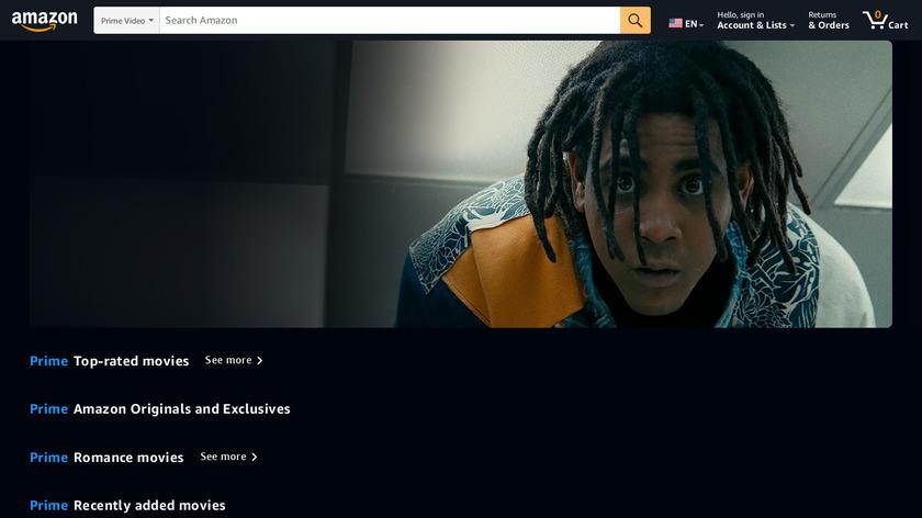 Amazon Video Landing Page
