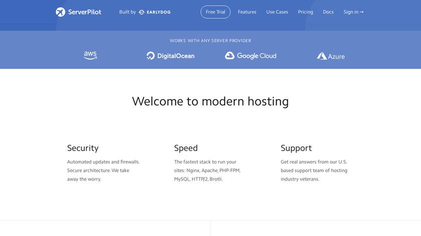 ServerPilot.io Landing Page